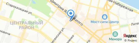Бизнес ПАРТНЕР на карте Днепропетровска