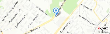 Жилье строй трест №1 на карте Днепропетровска