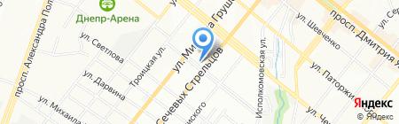 Всегда охота на карте Днепропетровска