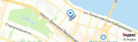 Tavis на карте Днепропетровска