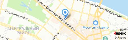 GERDA на карте Днепропетровска