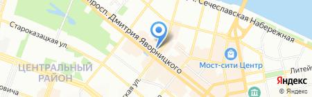 Днепросервис ЭСБ на карте Днепропетровска