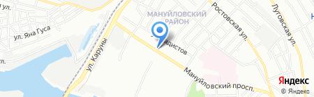 Амур на карте Днепропетровска