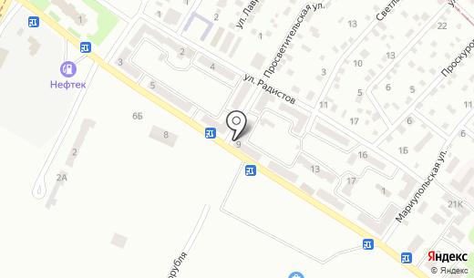 Терминал самообслуживания КБ ПриватБанк. Схема проезда в Днепропетровске