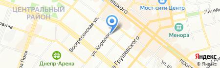 ЛАСПИ на карте Днепропетровска