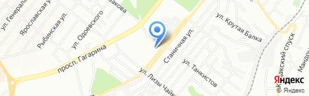 Художественная школа ул. Володи Дубинина на карте Днепропетровска