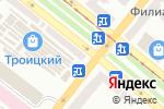 Схема проезда до компании Мастерская в Днепре