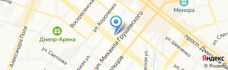 F1 Service на карте Днепропетровска