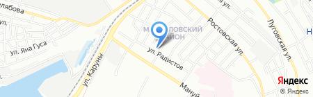 Силта-колор на карте Днепропетровска