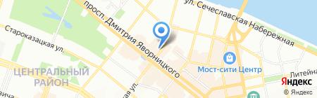 Партнер Тур на карте Днепропетровска
