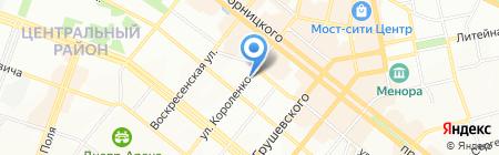 Кошкинъ дом на карте Днепропетровска