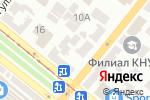 Схема проезда до компании Щит-право в Днепре