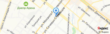 МГП Спецавтоматика на карте Днепропетровска