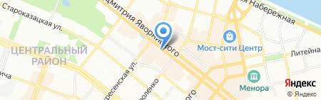 Изумруд на карте Днепропетровска