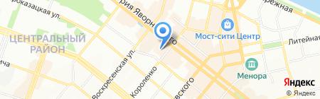 Имперадор на карте Днепропетровска