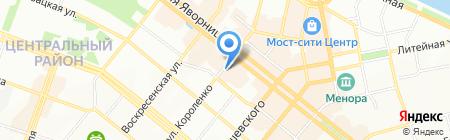Школа макияжа Евгении Кононенко на карте Днепропетровска