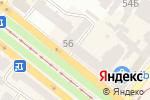 Схема проезда до компании Проспект в Днепре
