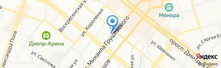 ВИСТАНА на карте Днепропетровска