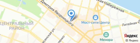 Украина на карте Днепропетровска