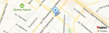 Моя аптека на карте Днепропетровска