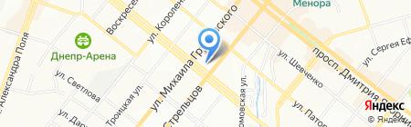 SMPR на карте Днепропетровска
