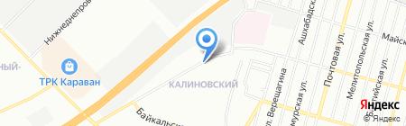 Торговый комплекс на карте Днепропетровска