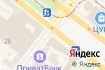 Схема проезда до компании Eva в Днепре