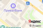 Схема проезда до компании Вареничная в Днепре