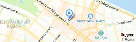 Crea Concept на карте Днепропетровска