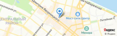 Ambassador на карте Днепропетровска