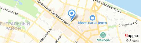 Casta на карте Днепропетровска