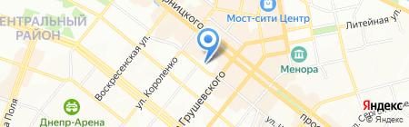 Ван Гог на карте Днепропетровска