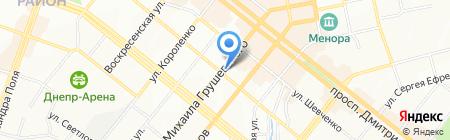 Monpel`e на карте Днепропетровска