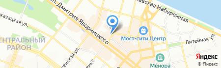 Splash Studio на карте Днепропетровска