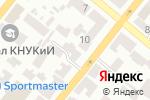 Схема проезда до компании Магазин автозапчастей для Сhevrolet, Daewoo в Днепре