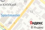 Схема проезда до компании Электростандарт Центр в Днепре