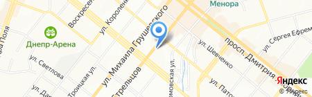 сКлад Штор на карте Днепропетровска