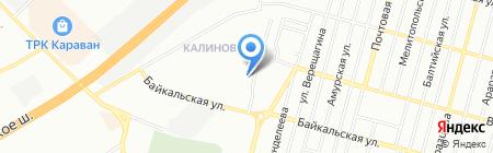 Автославия ЧП на карте Днепропетровска