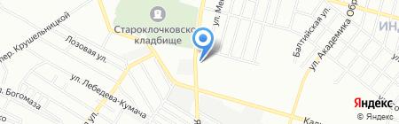 ABColor Service на карте Днепропетровска