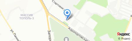 Keramis на карте Днепропетровска