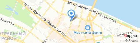 Lazer Lux на карте Днепропетровска