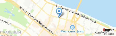 Be happy на карте Днепропетровска