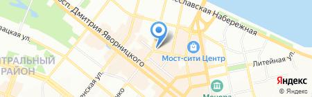 Заправочка на карте Днепропетровска