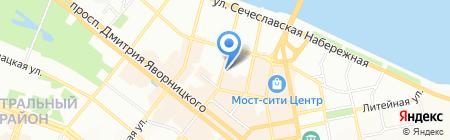 Балатон на карте Днепропетровска