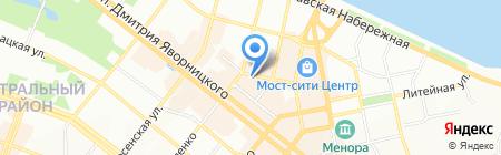 Золотое путешествие на карте Днепропетровска