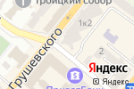 Схема проезда до компании Штрассе в Днепре