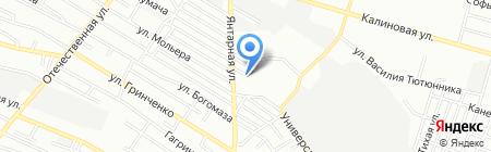 Prado на карте Днепропетровска