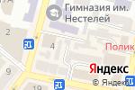 Схема проезда до компании Радник в Днепре
