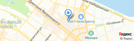 Nofelet на карте Днепропетровска