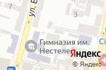 Схема проезда до компании Техпечать, ЧП в Днепре